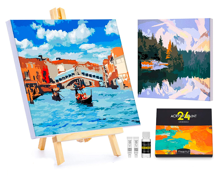 paint by numbers set, best gifts for mom 2021