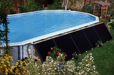 start your swimming season earlier and end it later with one of these solar pool heaters