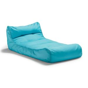 A lounge chair inspired pool float for adults
