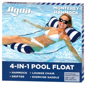 A versatile pool float for adults