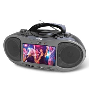 Hammacher Schlemmer The Bluetooth/DVD Boombox
