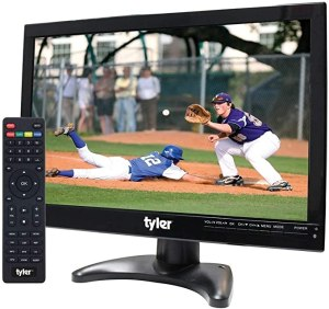 """Tyler Portable 14"""" LCD HD TV Television, best portable tv"""