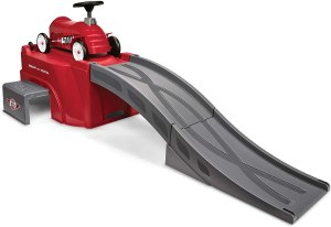 radio flyer 500 with ramp, backyard roller coaster kits