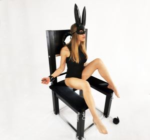 Seselace bondage chair with cuff
