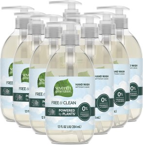 seventh generation unscented hand soap, foaming hand soaps