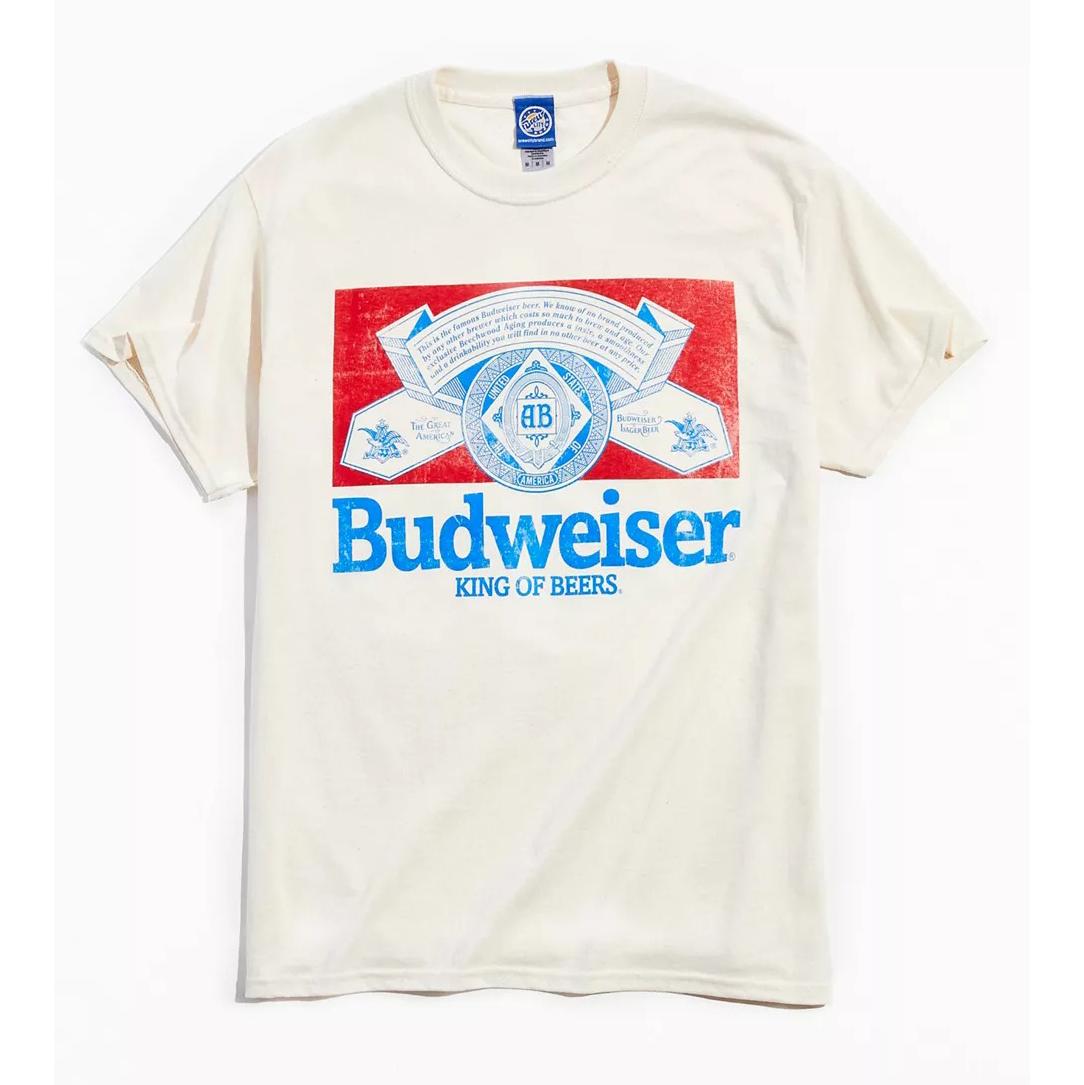 Budweiser King Of Beers Retro Tee