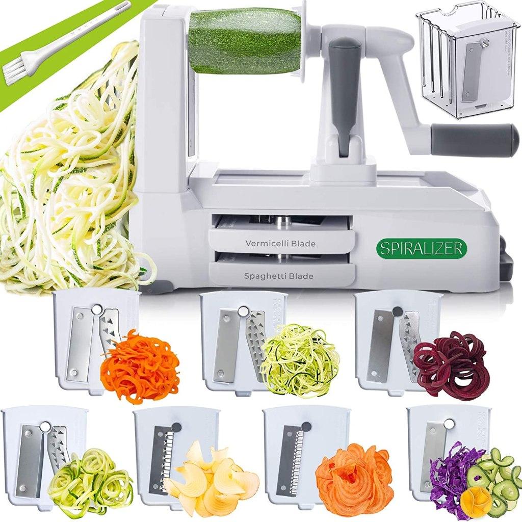 Spiralizer 7-Blade Vegetable Spiral Slicer