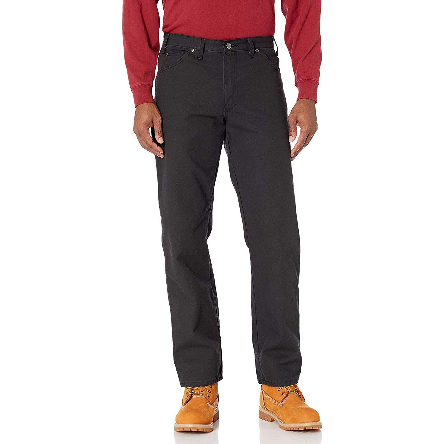 Dickies Relaxed Fit Straight-Leg Duck Carpenter Jean