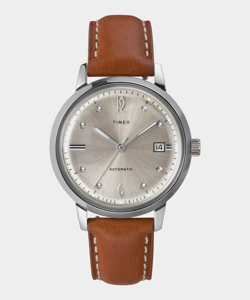 timex + todd snyder marlin watch