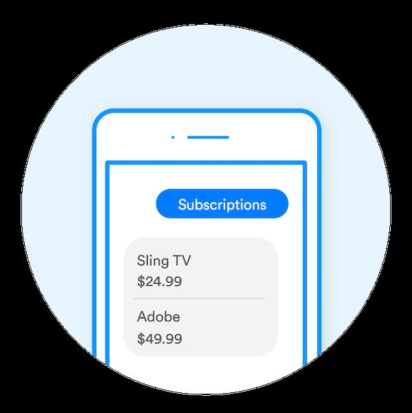 manage online subscriptions, trim app