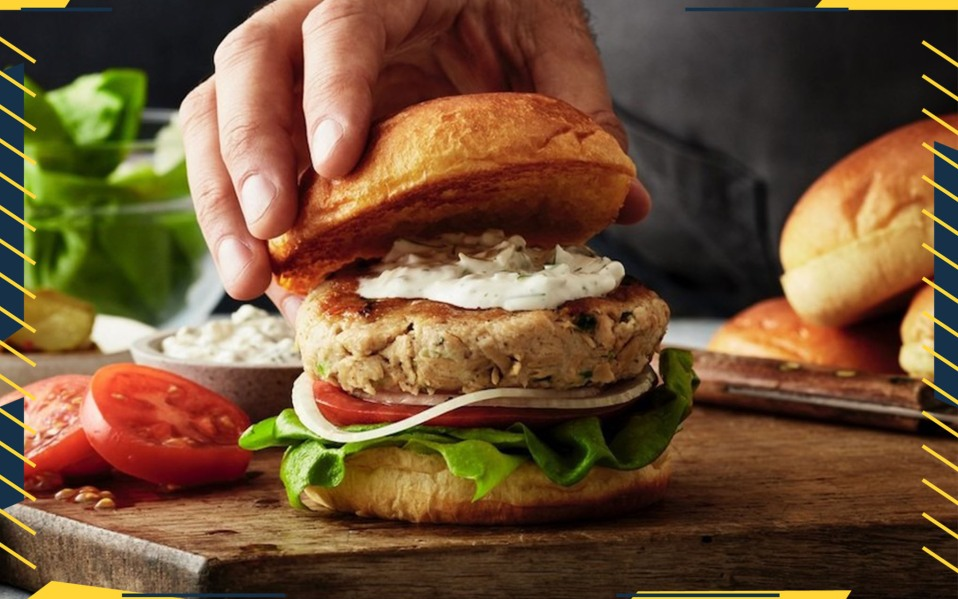 Good Catch Foods Fishless Burger