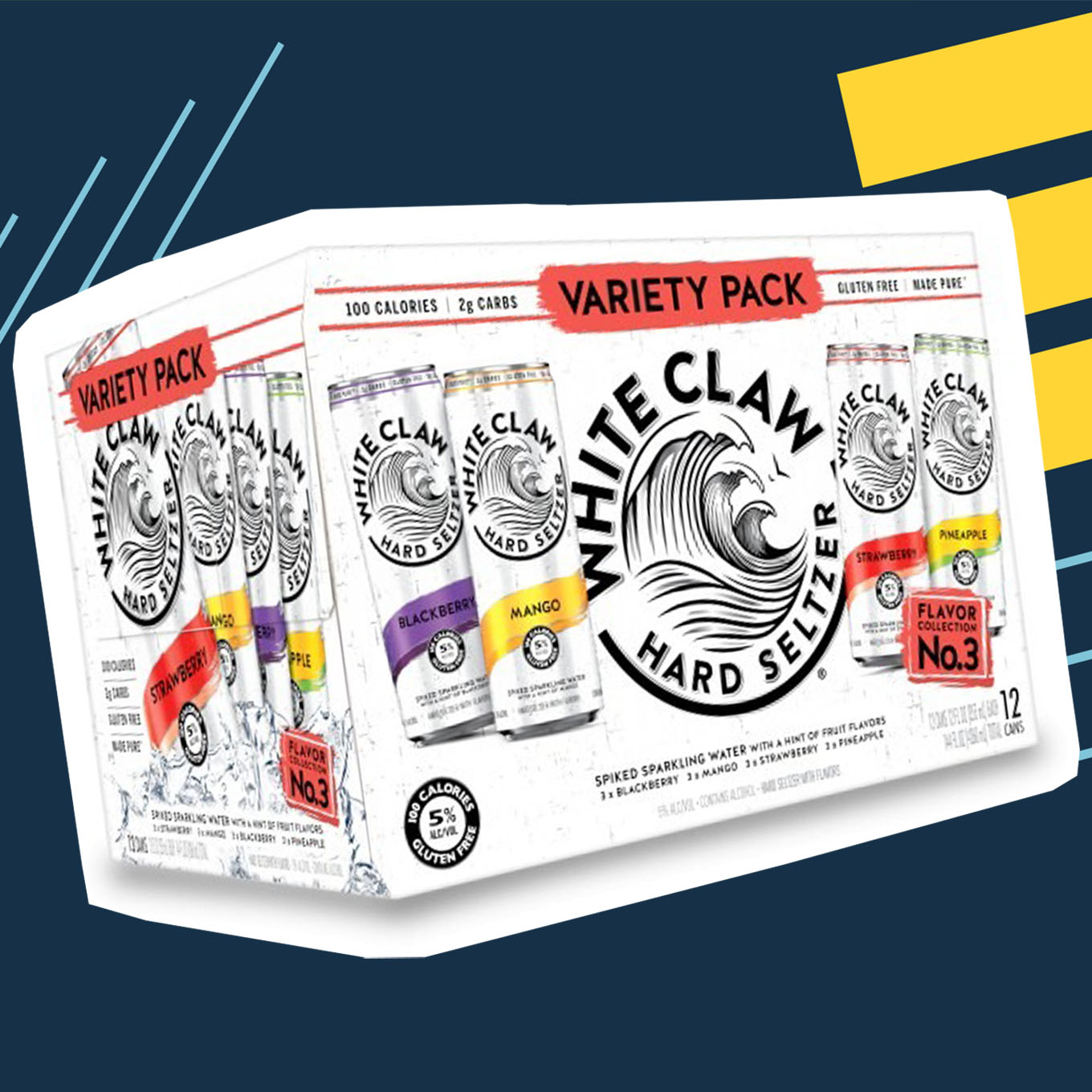 White Claw Variety Pack No. 3