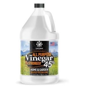 calyptus vinegar, best ways to clean grout