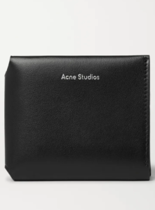 best wallets for men Acne Studios Leather Trifold Wallet