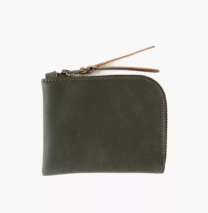 MAKR Leather Zip Luxe Wallet