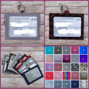 xoxoamour keychain vaccine card holder, where to store your covid vaccine card