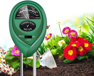 yoyomax soil test kit, moisture meter