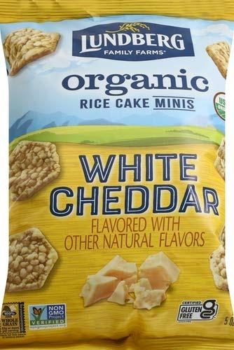 Lundberg Family Farms Organic Rice Cake Minis, Best snack foods