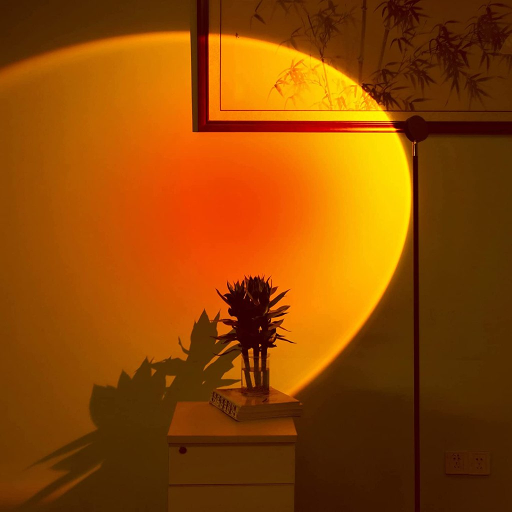 Spacenight Floor-Standing Sunset Projection Lamp