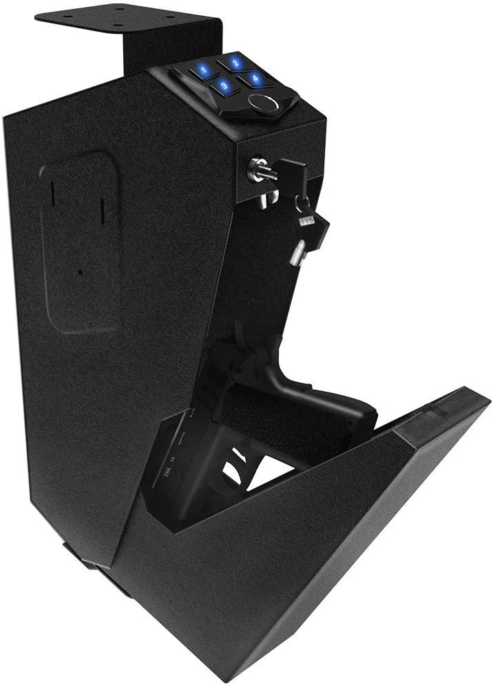 best mounted handgun safe
