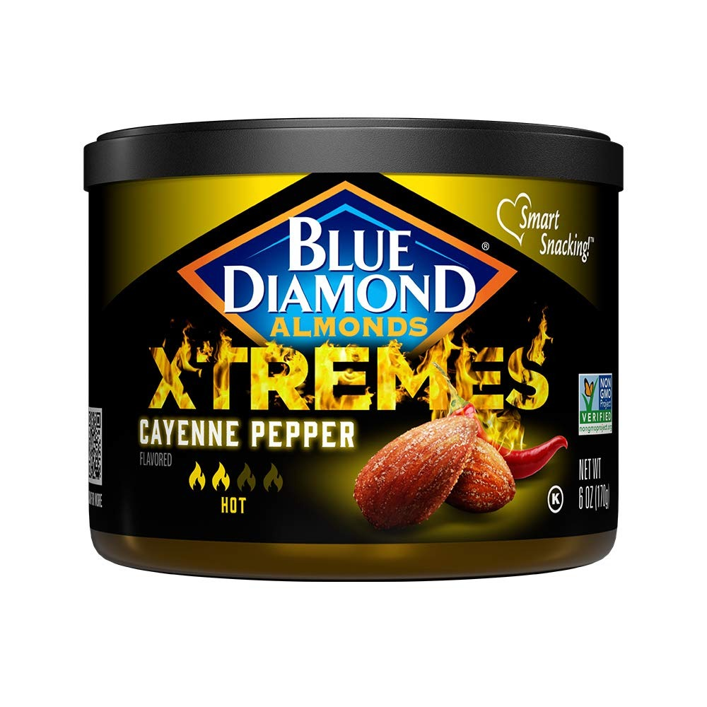 Blue Diamond XTREMES, Best snack foods