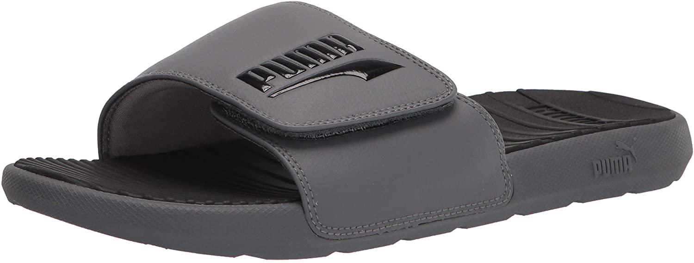 Puma Men's Cool Cat Hook and Loop Slide Sandal, most comfortable flip flops