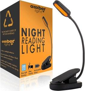 Amber Light Book Light