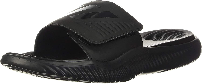 Adidas Men's Alphabounce Slide Sport Sandal, most comfortable flip flops