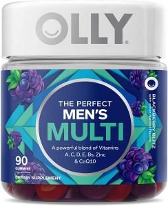 OLLY Men's Multivitamin Gummy, Best Multivitamins for Men