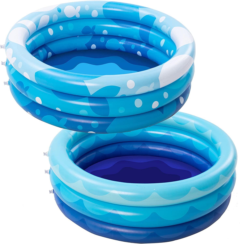 Sloosh Inflatable Kiddie Pool Set