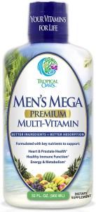 Men's Mega Premium Liquid Multivitamin, best multivitamins for men