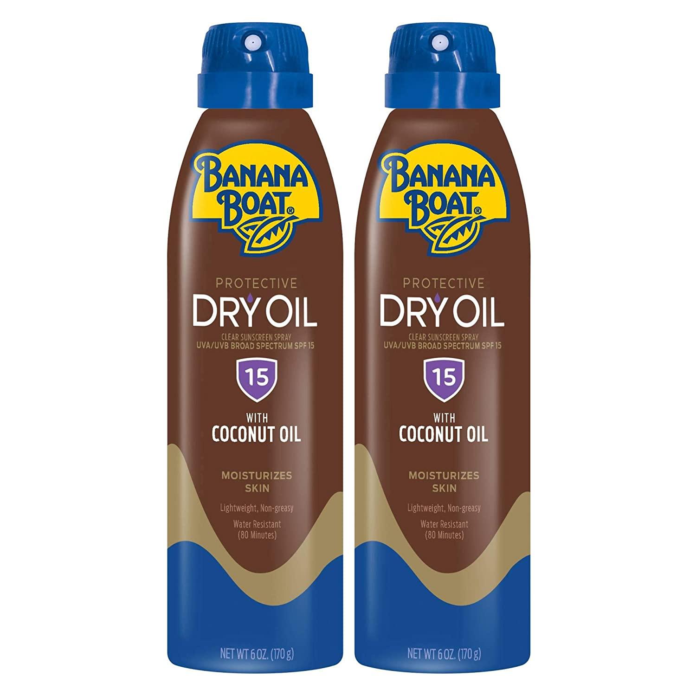 Banana Boat Dry Oil Spray