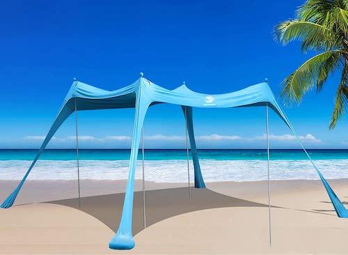 BOTINDO Family Beach Tent Sunshade