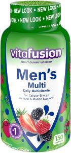 Vitafusion Adult Gummy Vitamins, Best Multivitamins for Men