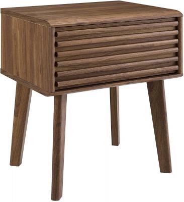 mid century modern nightstand