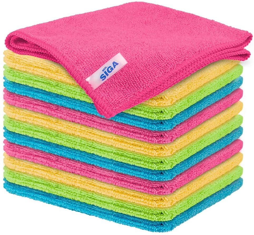 MR.SIGA Microfiber Cleaning Cloth, how to get rid of allergens in your home