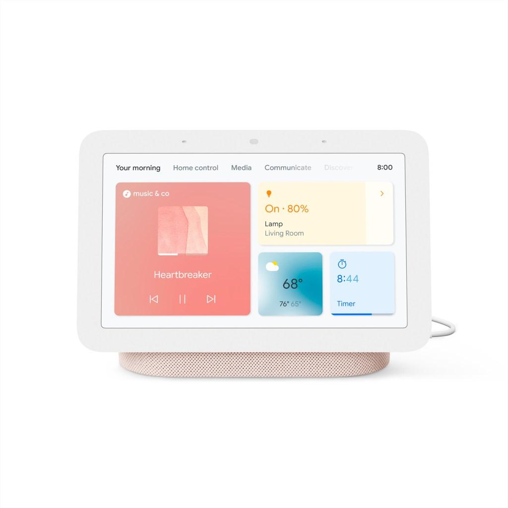 best smart display google nest hub