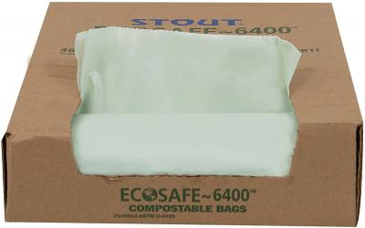 stout biodegradable trash bags