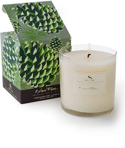 Soap and Paper Factory Roland Pine Candle
