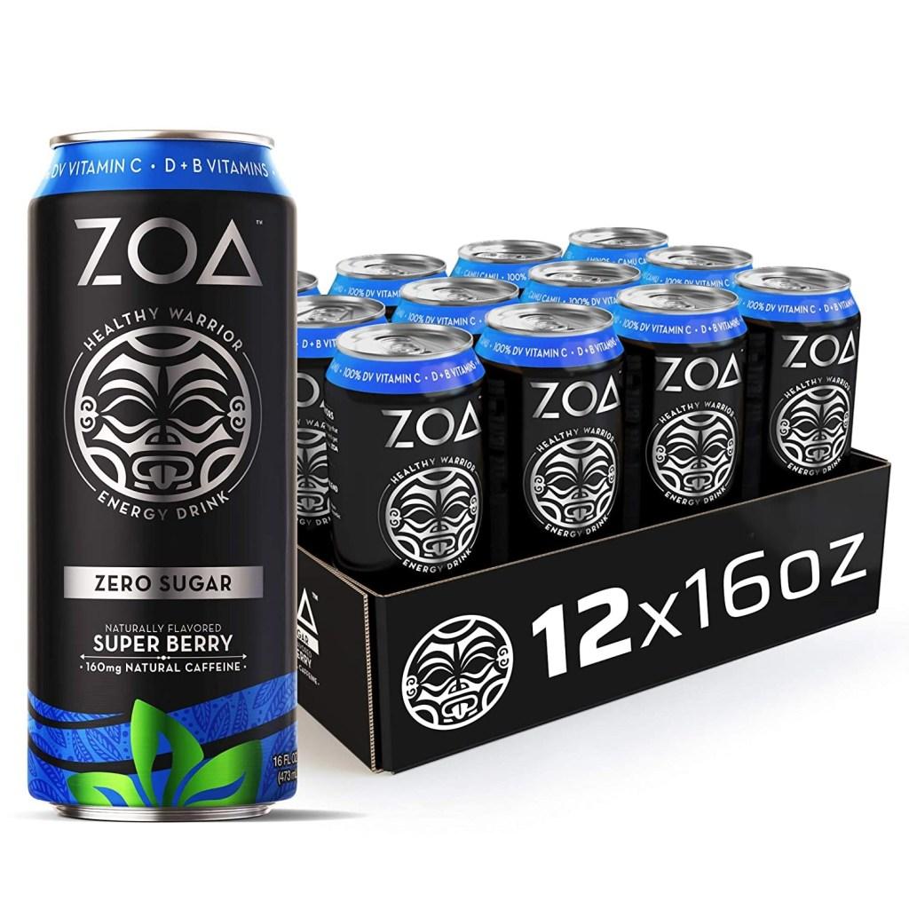 ZOA Healthy Warrior Energy Drink, Best Pre-Workout Drinks