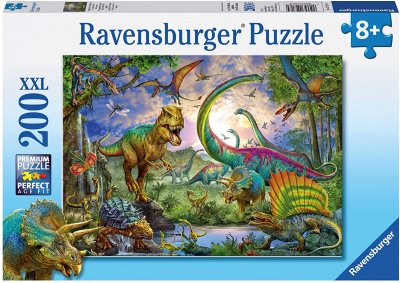 dinosaur puzzle for kids Ravensburger Realm of the Giants 200 Piece Jigsaw