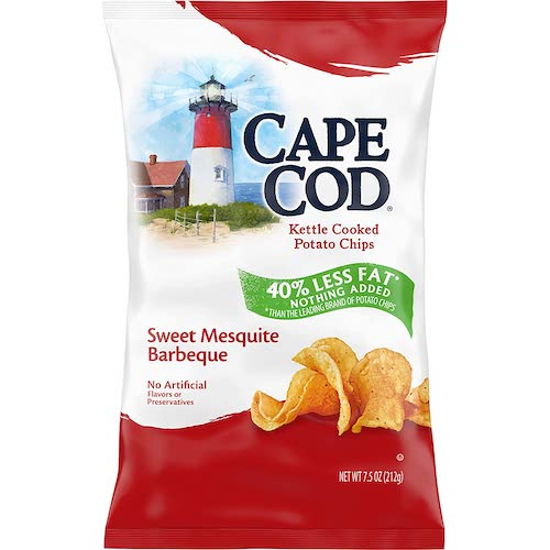 Cape Cod Mesquite Barbeque Kettle Cooked Chips