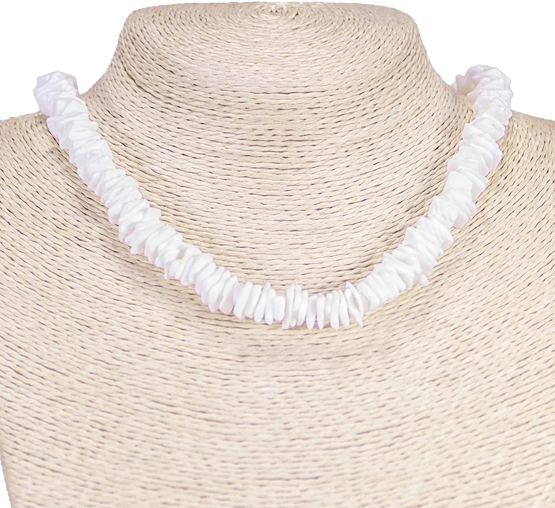BlueRica Puka Chip Shells Necklace