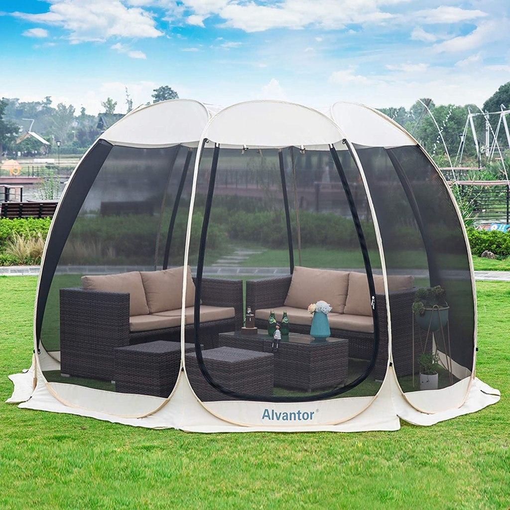 Alvantor Screen House 4-15 Person Pop Up Tent