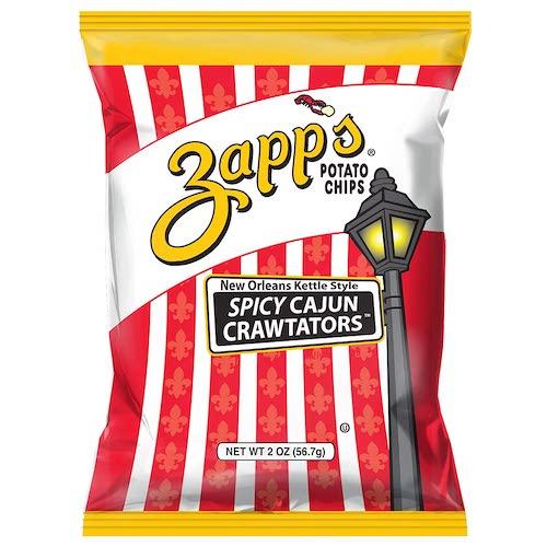 Zapp's Spicy Cajun Crawtator Kettle-Style Potato Chips