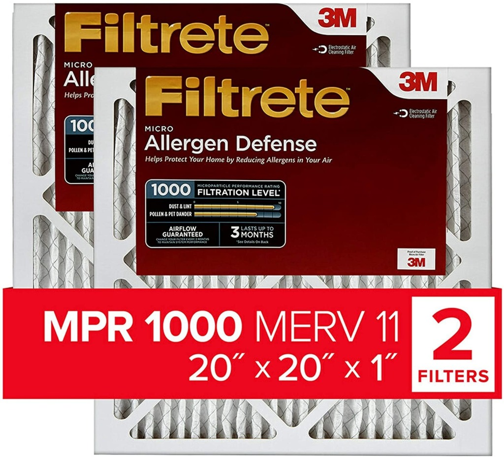 Filtrete Air Filters, how to get rid of allergens in your home