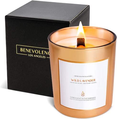 Benevolence LA Wild Lavender Candle