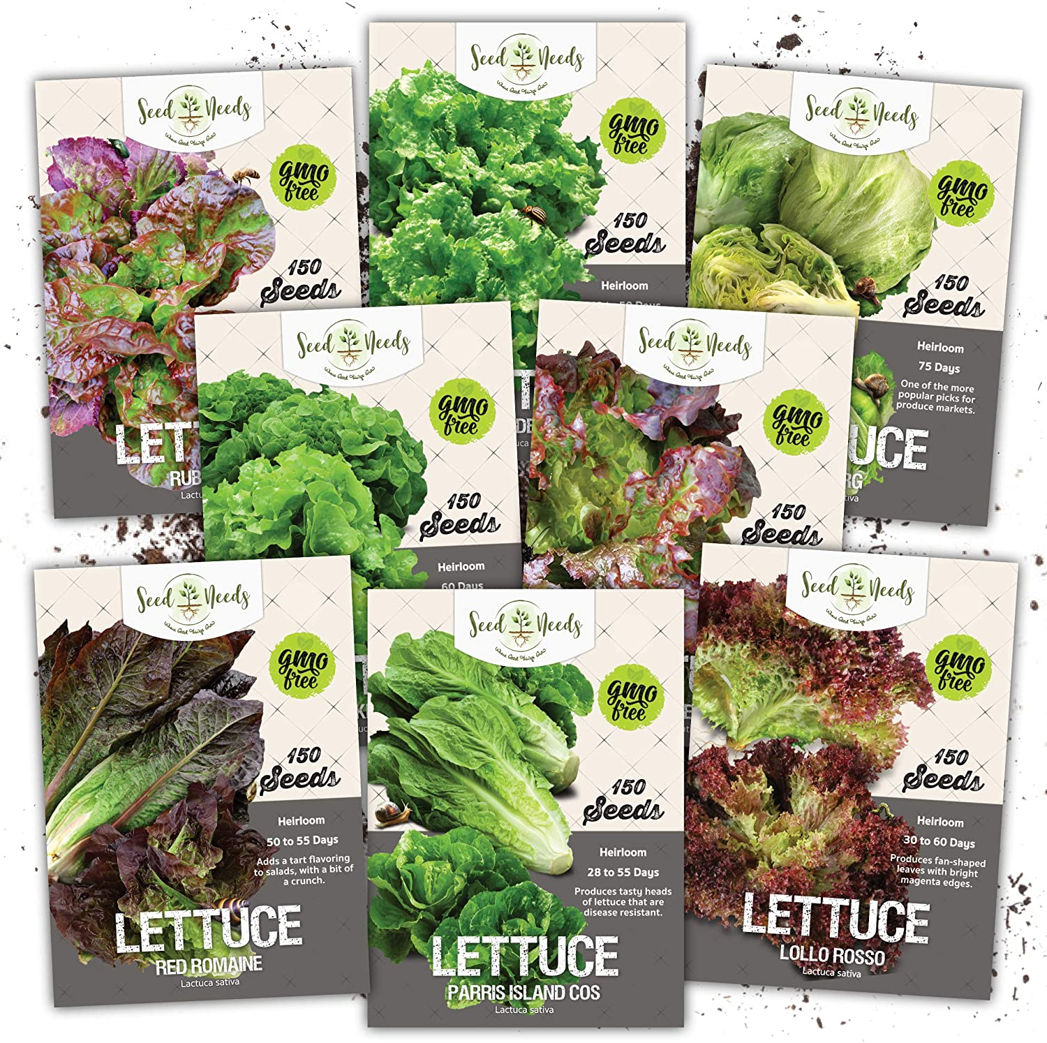Seed Needs Lettuce Lovers Seed Collection