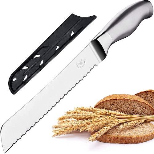 Orblue Serrated Bread Knife