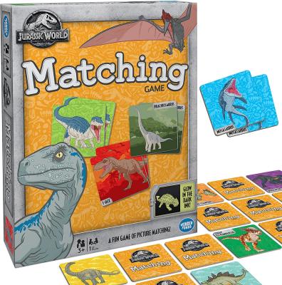Jurassic Park matching game